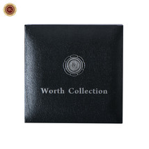 WR Collector's Presentation Box Single Coin Display Storage Case Holds 45mm Coin image 2