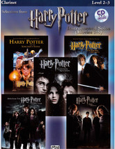 Harry Potter Sheet Music for Clarinet Hedwig's Theme, Hogwarts' March, F... - $12.13