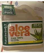 Fruit Of The Earth ALOE VERA Juice from Inner gel fillet 1 GALLON - Sealed - $73.73