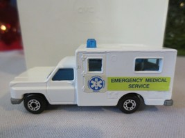 Matchbox Lesney #41 Superfast Ambulance Emergency Medical Service Blue l... - $15.00