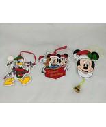 Disney Kurt S Adler Mickey Mouse Donald Duck Christmas Ornament Lot - $24.95