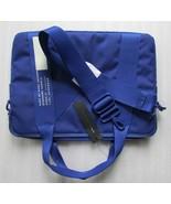 """Marc by Marc Jacobs 15"""" Laptop Canvas Messenger Bag Scuba Blue New $178 - $156.42"""