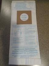 8-PACK Genuine Hoover Y Vacuum Cleaner Bags Micro Allergen Filtration 40... - $14.95