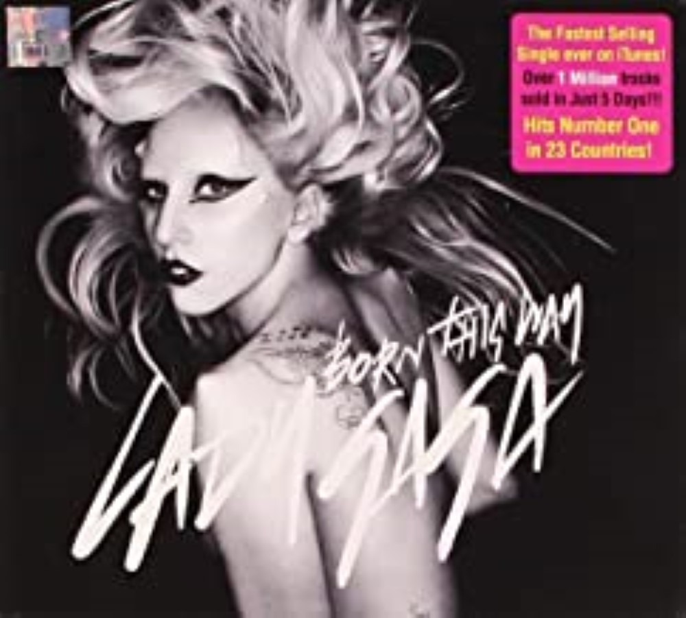 Born This Way by Lady Gaga Cd