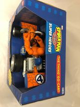 Marvel Spider-Man & Friends The Thing You Go- Cart Motorized Pull Back Go Action image 3