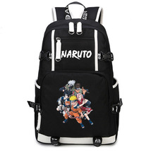 Naruto Theme Fighting Anime Series Backpack Schoolbag Daypack Naruto Team - $36.99