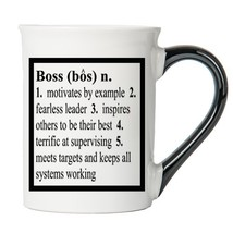 Cottage Creek - Boss - Boss Coffee Mug - Large 18 Ounce White Ceramic Co... - $18.05