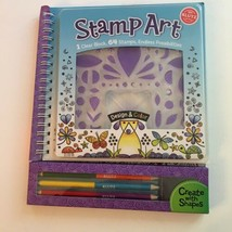 Klutz Stamp Art Kit Book Craft Set Instructions Ages 8 & Up New - $19.95