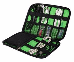 Digital Gadget Devices Storage Bag Organizer Kit Travel USB Cable Earpho... - $8.99