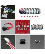 2019 MONSTA X WORLD TOUR [WE ARE HERE] CONCERT OFFICIAL GOODS - $29.90