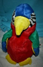 Ty Beanie Buddy Jabber Plush Multi-color Parrot Bird with Tags 11 Inches 1999 - $9.26