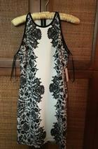 New! B.DARLIN JUNIORS white & black DRESS Size 11/12. Retail $59. Current season - $44.00