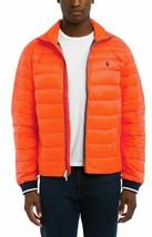 Polo Ralph Lauren Orange Men's Packable Quilted Down Jacket, XL - $137.61