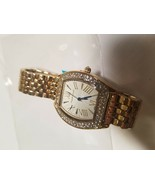 Auguste Jaccard Coquina Ladies Watch Dial Crystals Surround Bezel 1504a - $30.32