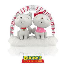Jingle and Bell's Christmas Sing-Along 2014 Hallmark Ornament Husky Dogs... - $12.82