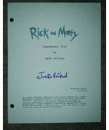 Justin Roiland Hand Signed Rick and Morty Script COA Adventure Time - $149.99
