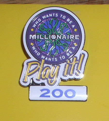 Primary image for Disney Millionaire Play It  200 Points Authentic Disney Pin