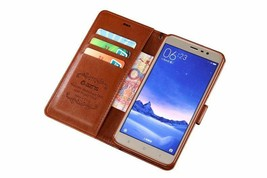 Phone Flip Cover For Redmi Note 3 Model Fashion Flip Leather Pro Book St... - $25.45