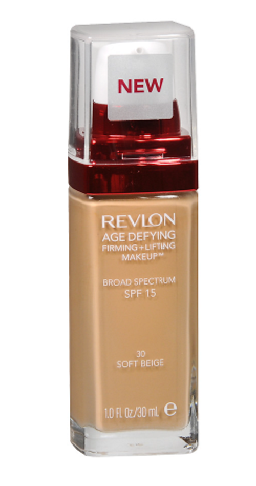 Primary image for Revlon Age Defying Foundation Firm + Lift SPF 15 Soft Beige 30 NEW