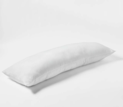 Body Pillow White - Room Essentials 52''(L), 20'' (W) 7'' thick (WHOLE PILLOW ) image 3
