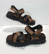 VTG 90s Skechers 2 Strap Open Toe Chunky Platform Fisherman Sandals Men ... - $28.04