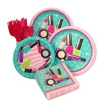 Makeup Spa Birthday Party Supply Pack Bundle For 8 Guests - $30.77 CAD
