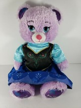 Build A Bear Frozen Anna Stuffed Plush Toy Bear and Outfit dress Animal ... - $19.34