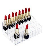 HBlife Lipstick Holder, 40 Spaces Clear Acrylic Lipstick Organizer Displ... - €8,60 EUR