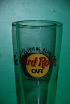 Hard Rock Cafe San Diego Save the Planet Tall Beer Glass Pilsner Bar HRC - $14.95