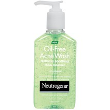 Neutrogena Oil-Free Acne Wash Redness Soothing Facial Cleanser, 6 fl oz - $11.04