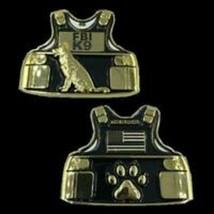 "2.5"" FBI K-9 CANINE BODY ARMOR CHALLENGE COIN - $23.74"