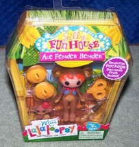 Mini Lalaloopsy Silly Funhouse ACE FENDER BENDER New - $7.50