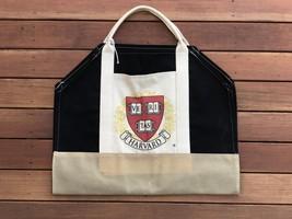 New! Ox Bow Decor! Harvard Logo Log Carrier! - $46.39