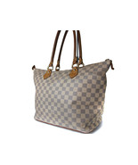 Authentic LOUIS VUITTON Saleya MM Damier Azur Tote Bag LT12501L - $415.80