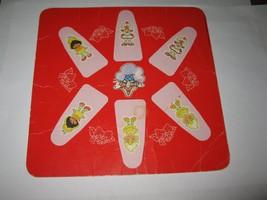 1981 Strawberry Shortcake 'Berry Go Round' Board Game Piece: Player Square #1 - $2.50