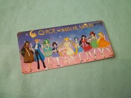 Sailor moon bookmark card sailormoon anime Q Pot all inner outer - $6.00