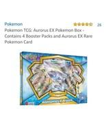 Pokemon Aurorus EX Box - $37.39