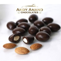 Andy Anand Dark Chocolate Spicy Almonds Vegan Gift Box 1 lbs Free Air Shipping - $19.84