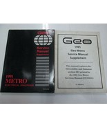 1991 Chevrolet GEO METRO Electrical Diagnosis Supplement Manual SET WORN... - $16.78