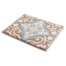 "MustMat Stylish Bathroom Sink Rugs and mats 19.6"" x 23.6"" Soft and Fluff... - $18.73"
