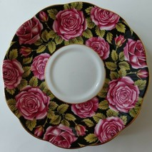 Royal Albert June Rose Covered Saucer Only Replacement Flower of the Month - $24.70