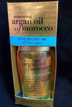 ORGANIX RENEWING ARGAN OIL OF MOROCCO PENETRATING OIL ALL HAIR TYPES 3.3 fl oz.
