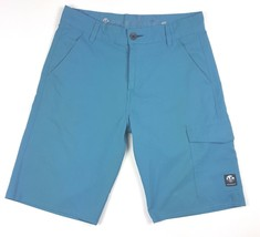 Vans Vanphibian Series Men Size 30 Teal Blue Board Shorts Surfer 100% Polyester - $13.09