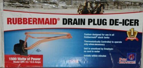 Farm Innovators Inc. DPH 15 Rubbermaid Drain Plug De Icer Corded