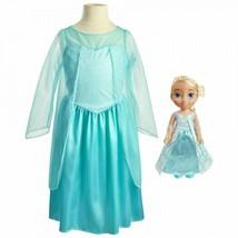 Frozen ,Elsa Disney Princess Toddler Doll and Dress Gift Set, jakks - $43.93