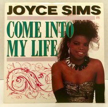 "Joyce Sims Come Into My Life 45 Vinyl Record 7"" Single Picture Sleeve Dance - $15.83"