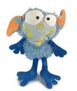 Manhattan Toy EENIE MEANIE Monster Galoompagal Blue Shaggy Plush Nostalg... - $29.69