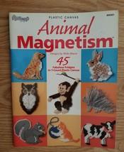 Plastic Canvas Animal Magnetism Book - $5.95