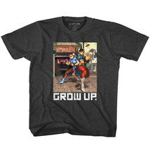Street Fighter Capcom Video Game Grow Up Youth T Shirt 2T-YXL - $17.58