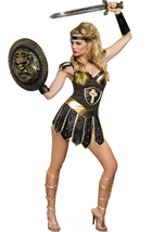 Queen of Sword Warrior Costume - $19.99